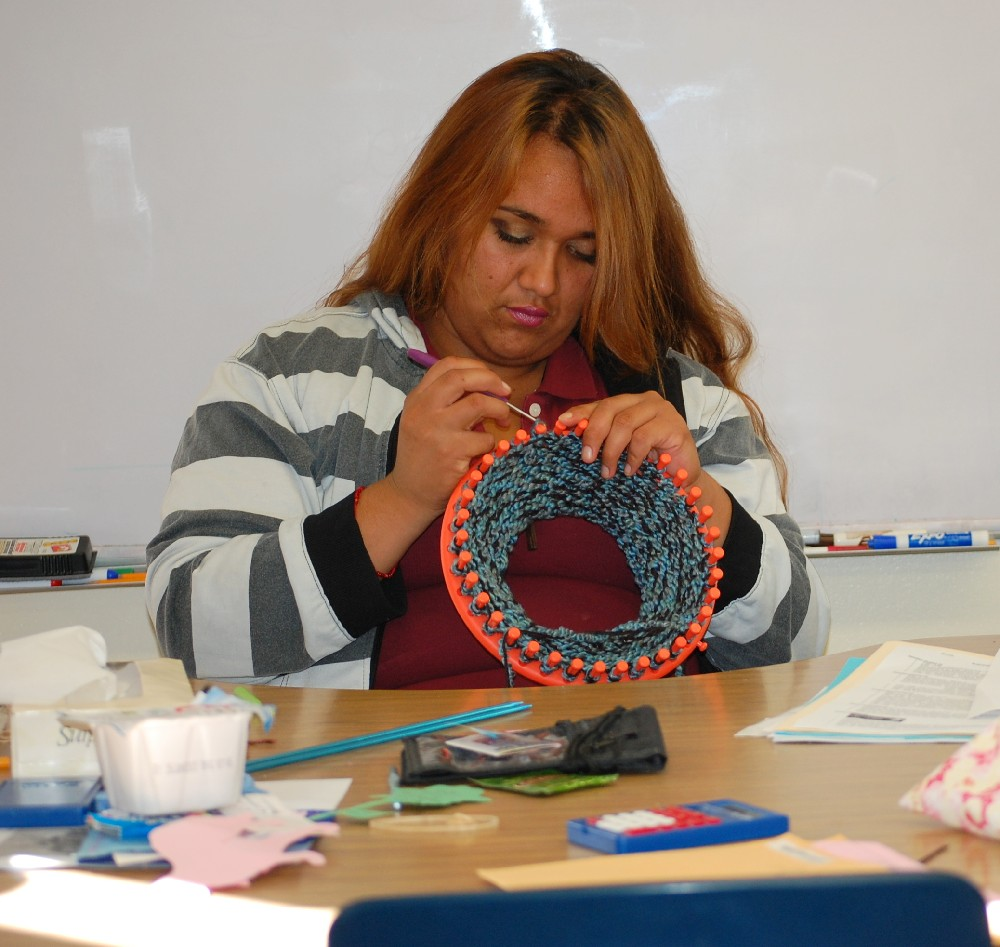 Student Crocheting2.JPG